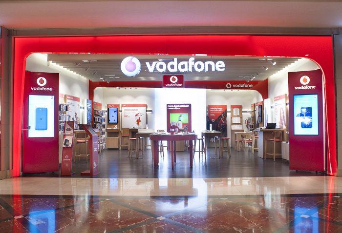 Tecnología NFC en tiendas Vodafone
