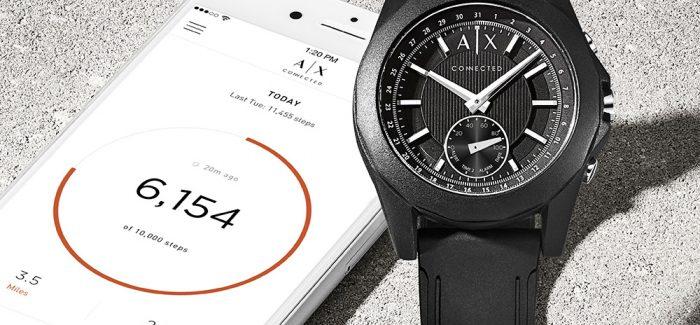 a9a0618a5eb Armani Exchange lanza nuevo smartwatch híbrido Connected