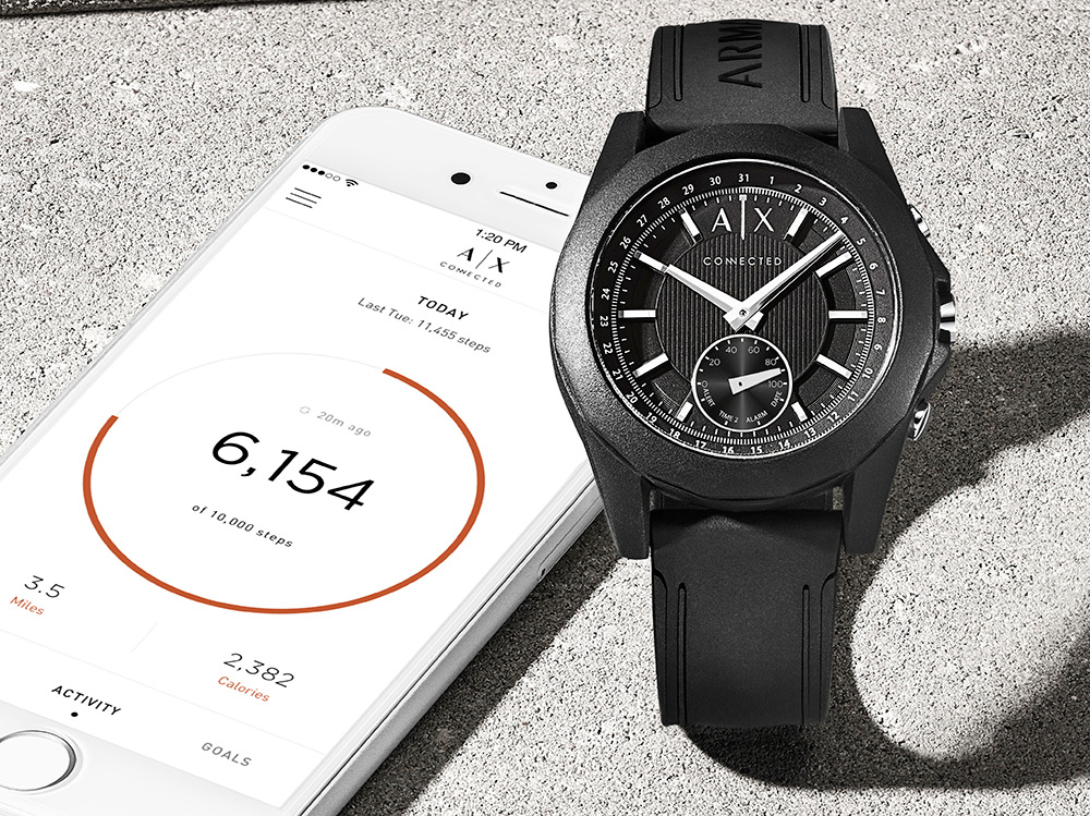 4601ef2e92fa Armani Exchange lanza nuevo smartwatch híbrido Connected