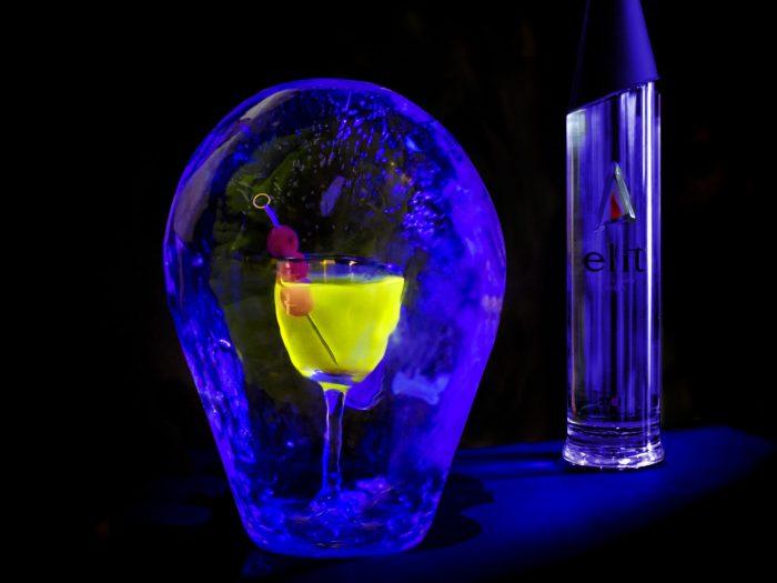 Glow In The Dark Martini