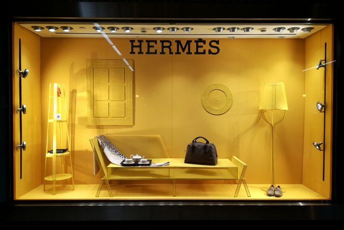 """""""Dibujos en el espacio"""" de Marcel Van Doorn para Hermès"""