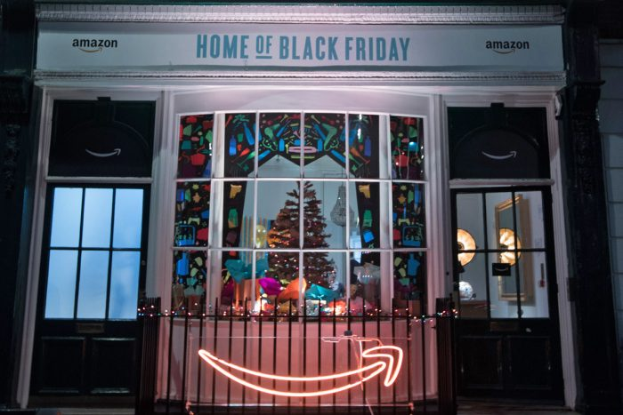 """Home of Black Friday"" by Amazon"