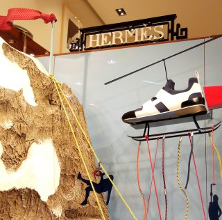 Hermès Christmas 2017 by INSTORE