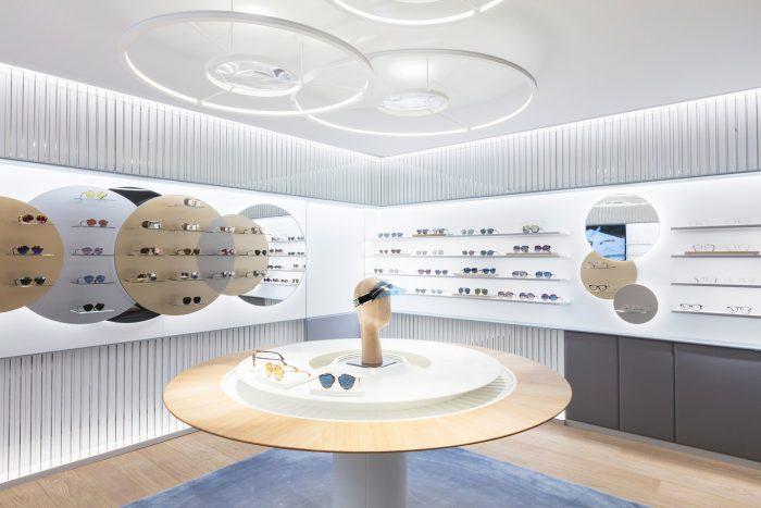 Dior abre una tienda dedicada exclusivamente a gafas