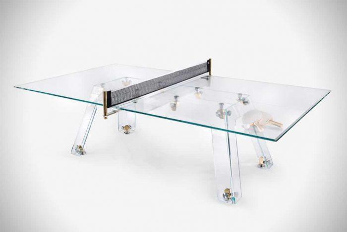 """Lungolinea"" mesa de ping pong de lujo"