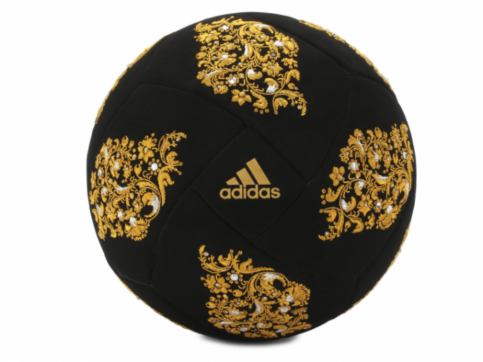 Exclusivo balón de terciopelo Adidas Fifa World Cup