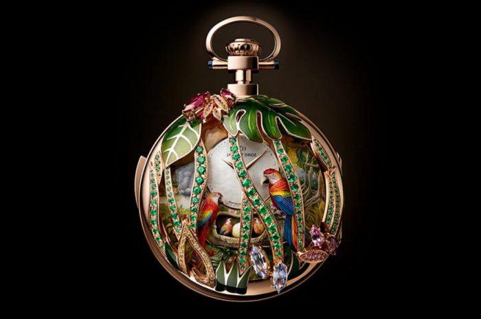 """""""Parrot Repeater"""", reloj de bolsillo"""