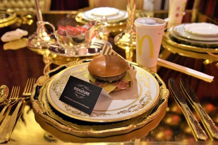 McDonald's abre un pop-up de lujo en Kensington