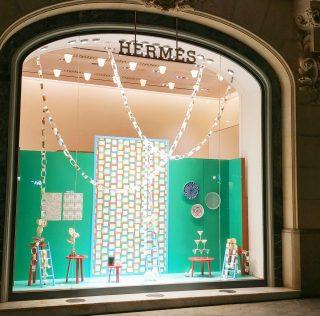 Escaparates de Navidad de Hermès Spain by INSTORE