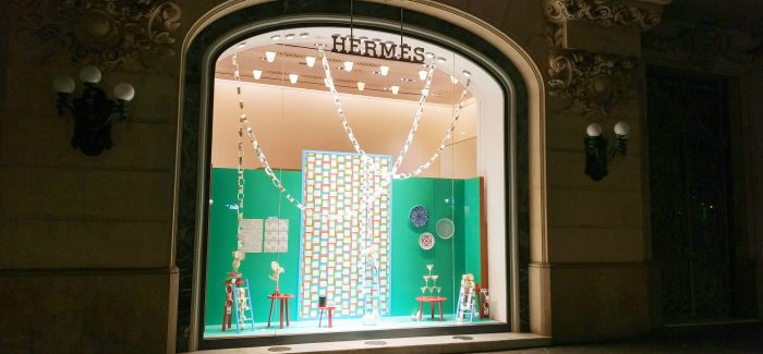 Escaparates de Navidad de Hermès Spain by INSTORE