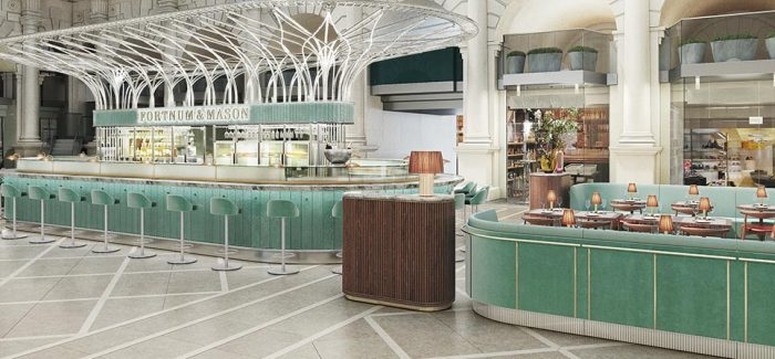 «The Royal Exchange» bar y restaurante en Fortnum & Mason