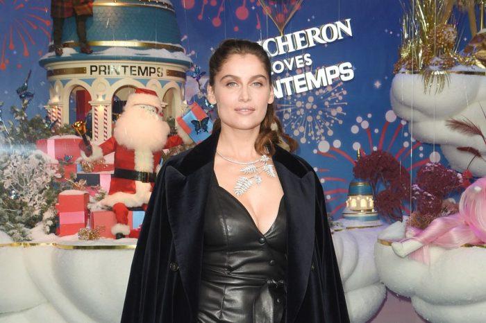 La Navidad de Le Printemps en París con Laetitia Casta