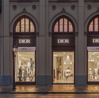 Dior nueva Flagship en Munich