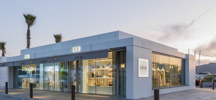 Dior pop up store en Ibiza