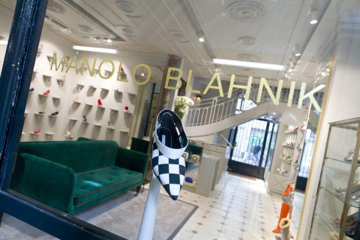 Manolo Blahnik boutique en París