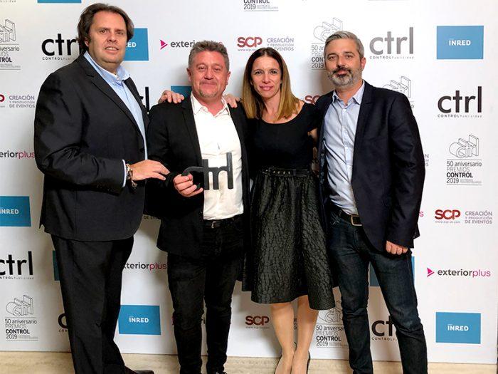 INSTORE galardonada en los #premioscontrol2019