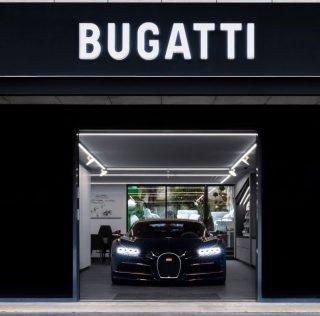 Bugatti showroom