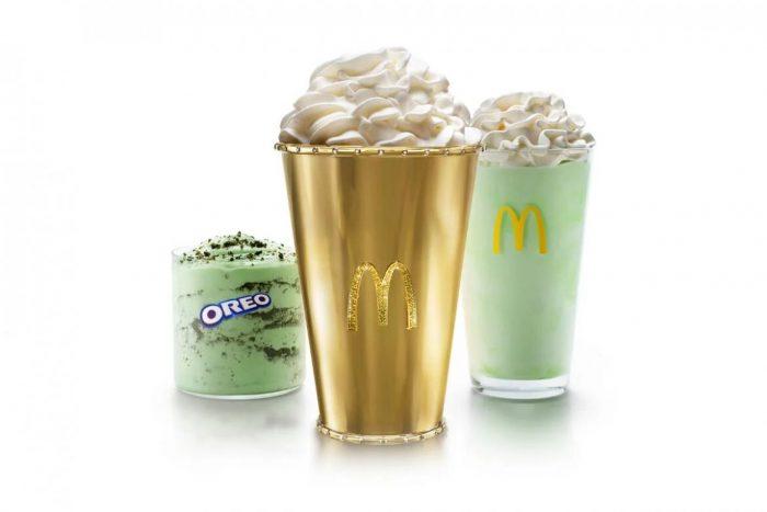 McDonald's Golden Shamrock Shake