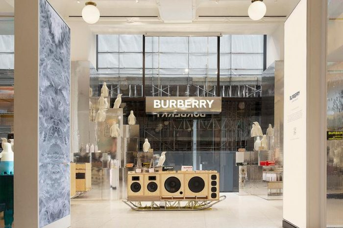 Burberry Selfridges Corner Shop