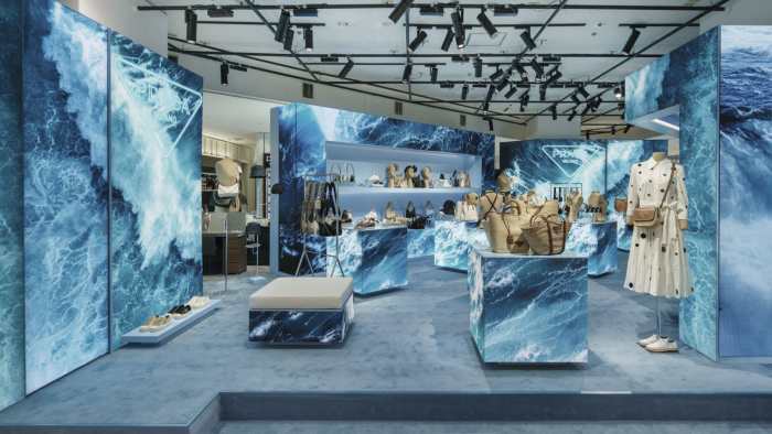 «Aqua» Pop-up de Prada