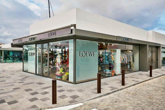 Loewe, pop-up store en Ibiza y Saint Tropez