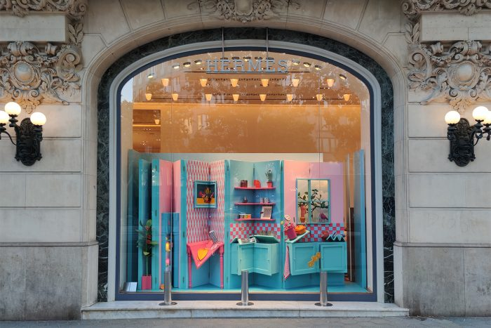 """Foldable life"" Hermès Spain Summer 2020"