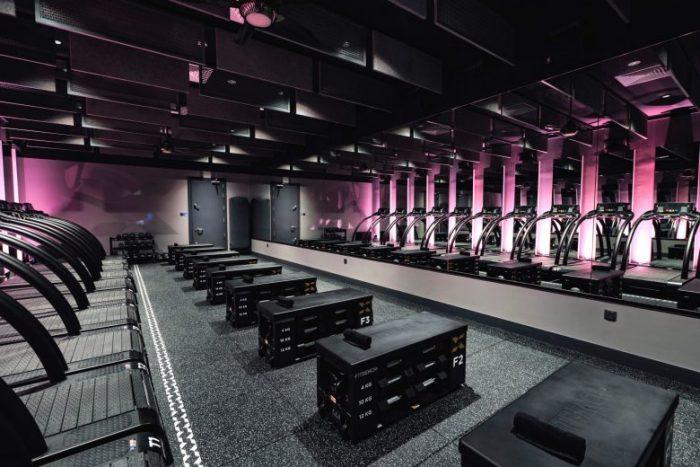 Shine X,  gimnasio boutique