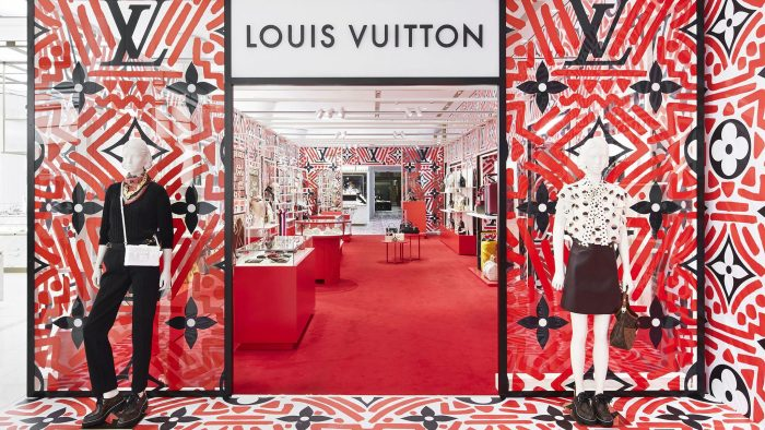 Louis Vuitton Pop-up Store Harrods