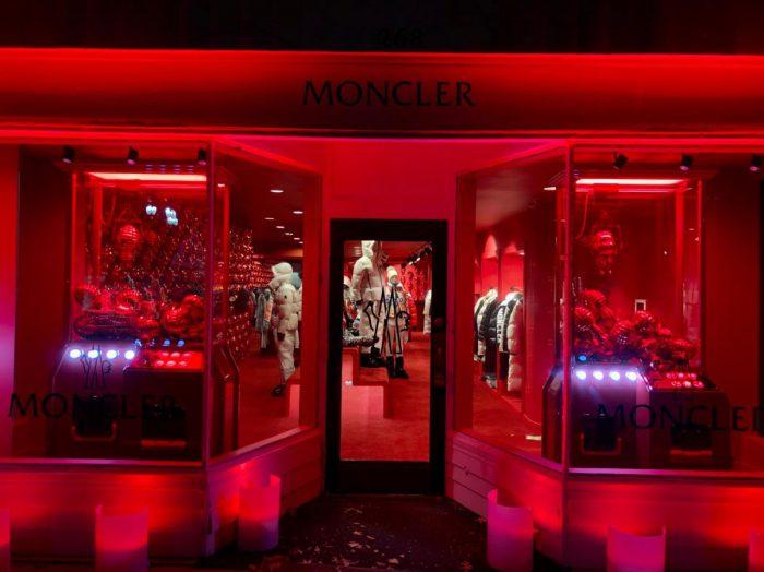 Moncler abre una tienda temporal en Greenwich