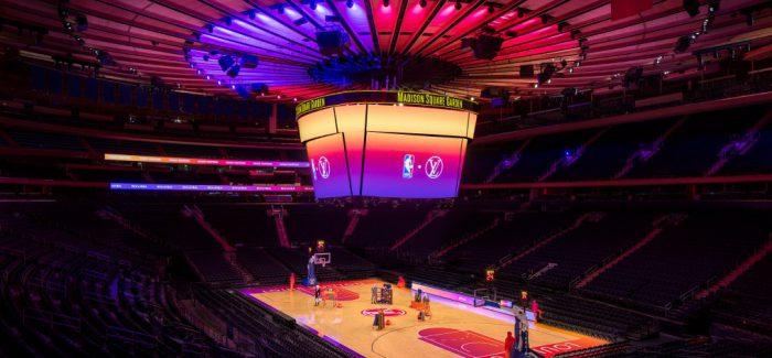 Nueva colección LV x NBA en una experiencia virtual