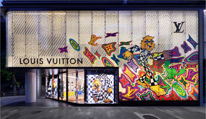 Louis Vuitton Store Tokio