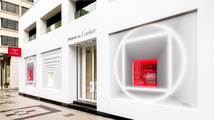 «Pasha de Cartier» pop-up store