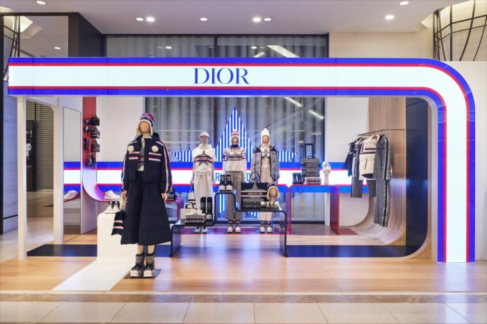 #DiorAlps pop-up en todo el mundo